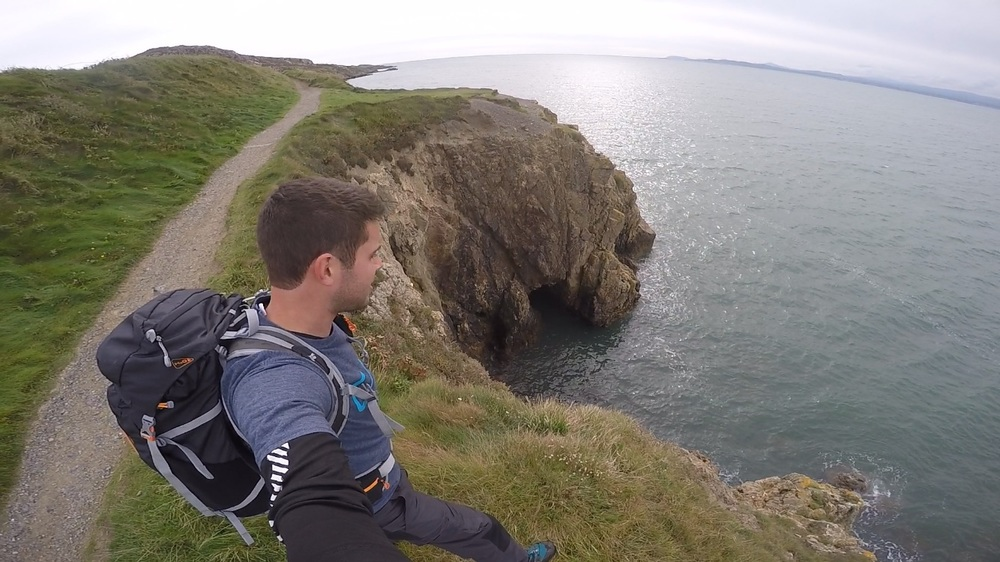 Exploring Howth coastline, Dublin