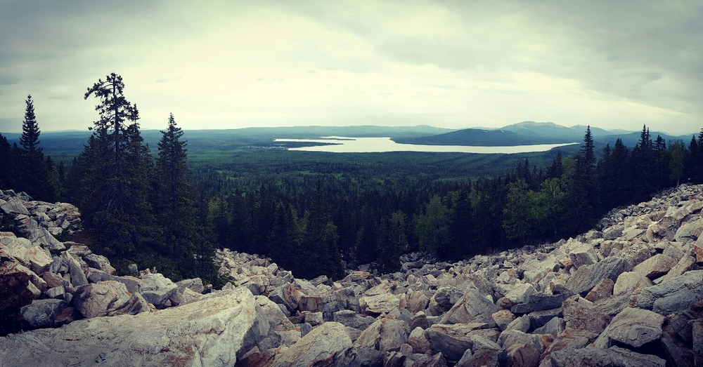 The South Ural Mountains