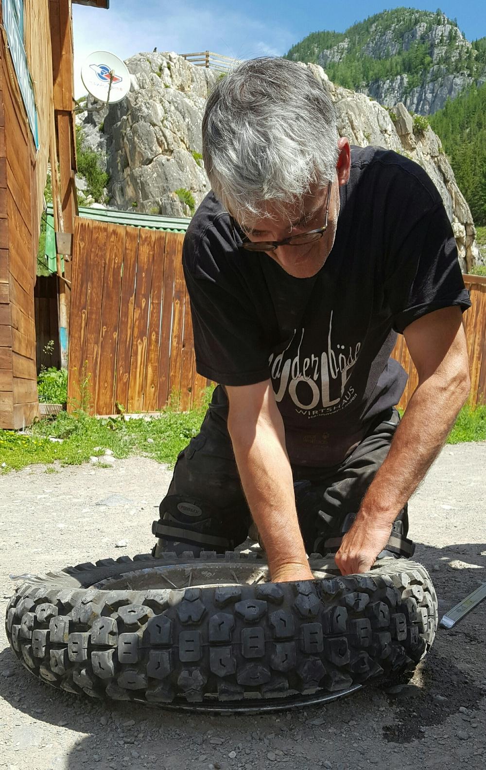 Repairing Herbert's puncture
