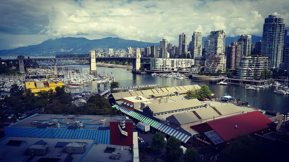 Granville Island and Downtown
