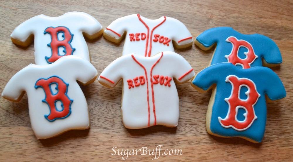 red sox cookies � sugar buff bake shop