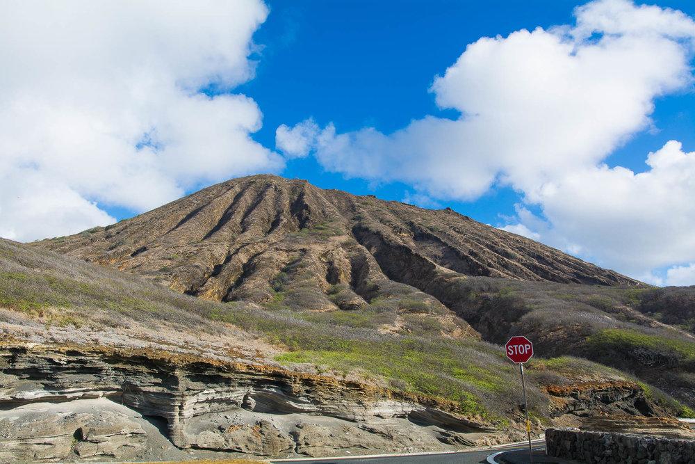 Diamond Head volcano!