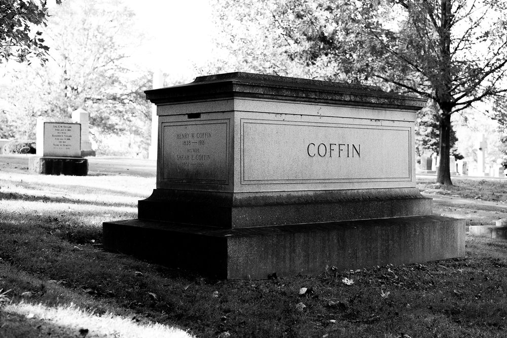 His last name was Coffin lol