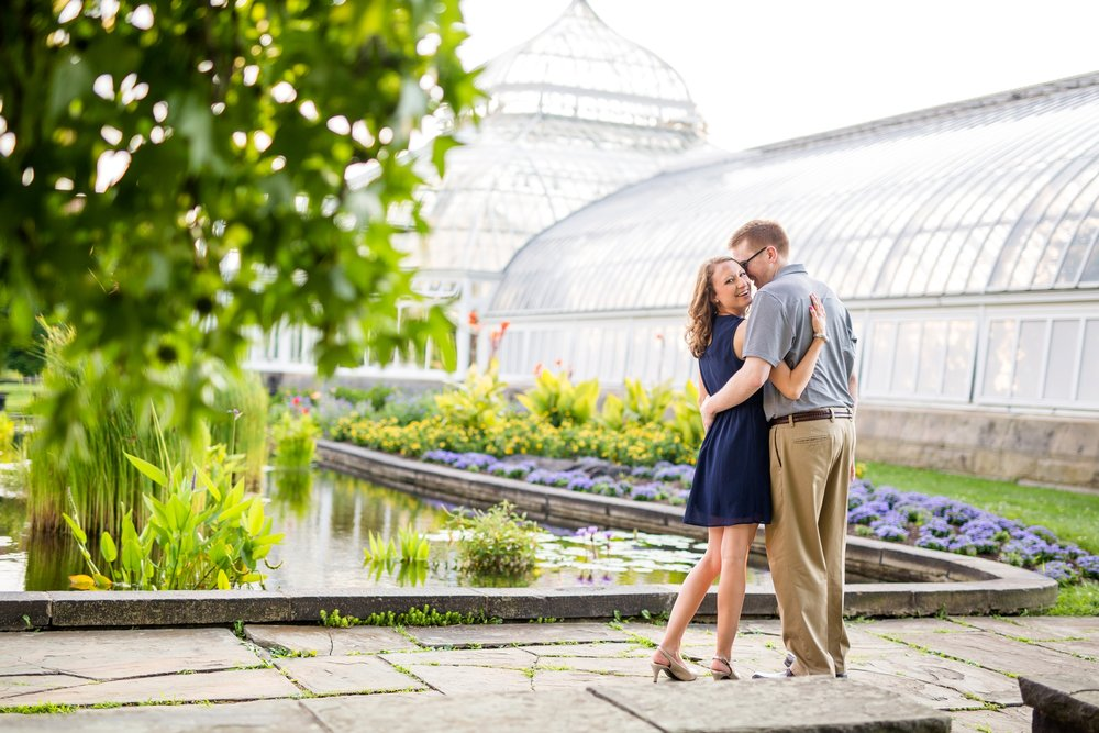 phipps conservatory wedding photos, phipps conservatory wedding pictures, phipps conservatory engagement photos, cranberry township photographer