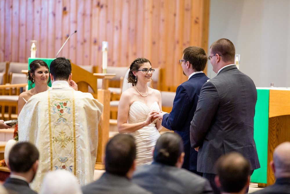 cranberry township wedding photographer, st ferdinand's catholic church photos, camelot banquet hall wedding photos, cranberry township wedding venues