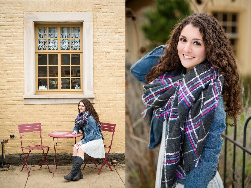 historic harmony senior photos, historic harmony senior pictures, cranberry township senior photographer, pittsburgh senior photographer