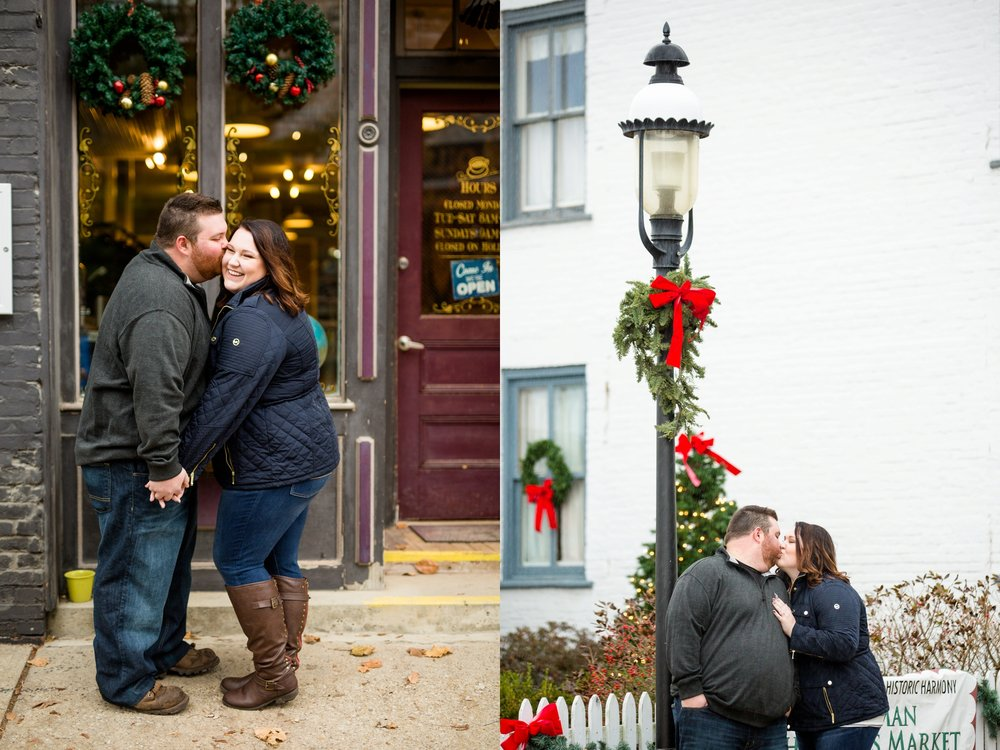 historic harmony engagement photos, historic harmony engagement pictures, cranberry township engagement photos, pittsburgh engagement photographer