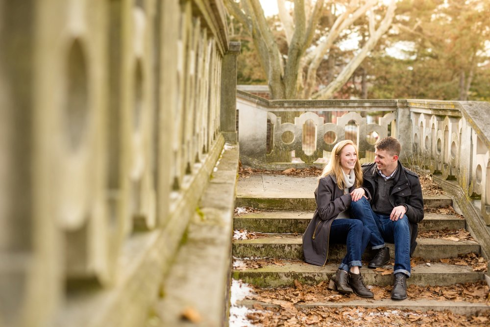 mellon park engagement photos, pittsburgh wedding photographer, mellon park engagement photos