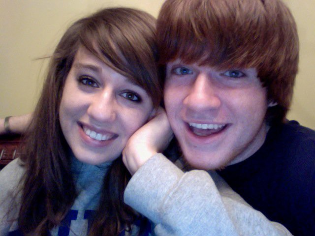 I always thought Nick had the best redheaded Justin Bieber hair when we were in high school 😍And this was back in the day when it was cool to take photos via the PhotoBooth on your computer.