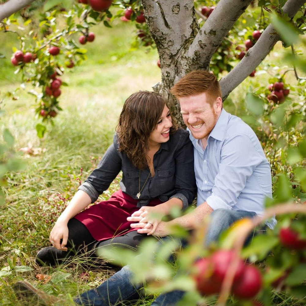 This photo has been one of my favorites since it was taken by the talented Michael Williams, mainly because I feel like it really captures exactly who we are together! Against allllll of my previous knowledge about engagement sessions before this day, Nick and I showed up in a bit of mid-fight, but by the end of the shoot, we totally forgot what we had been fighting about. We had so much fun!