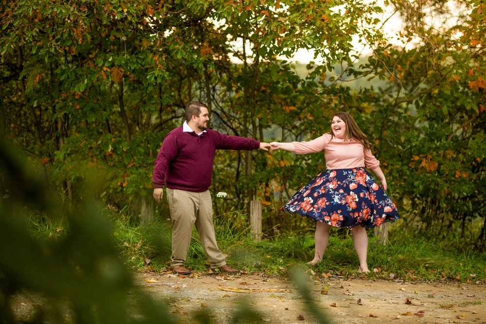 pittsburgh wedding photographer, pittsburgh engagement photos, best spot in pittsburgh for photo shoot, highland park engagement pictures, mcconnells mill pittsburgh engagement photos
