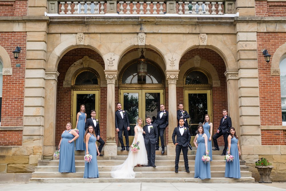 pittsburgh wedding photographer, the best pittsburgh wedding photographers, pittsburgh wedding venues, hilton garden inn southpointe wedding photos, washington and jefferson college photos