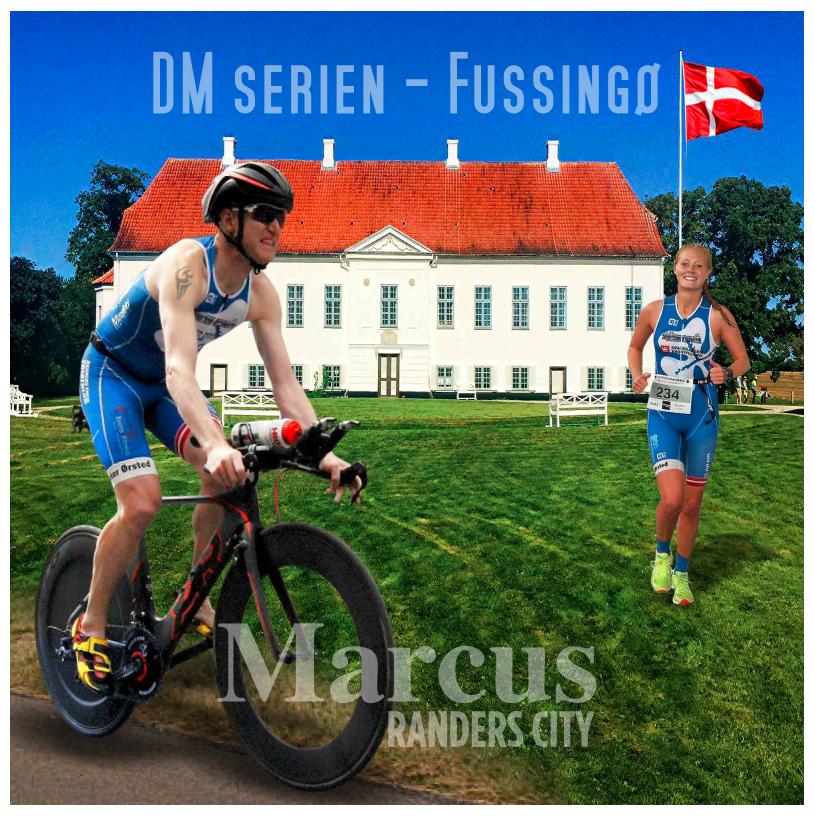 MARCUS TRIATHLON - DM TRI SERIEN 6. AFDELING Efter 20 år er der igen DM i triathlon i Fussingø nær Randers.