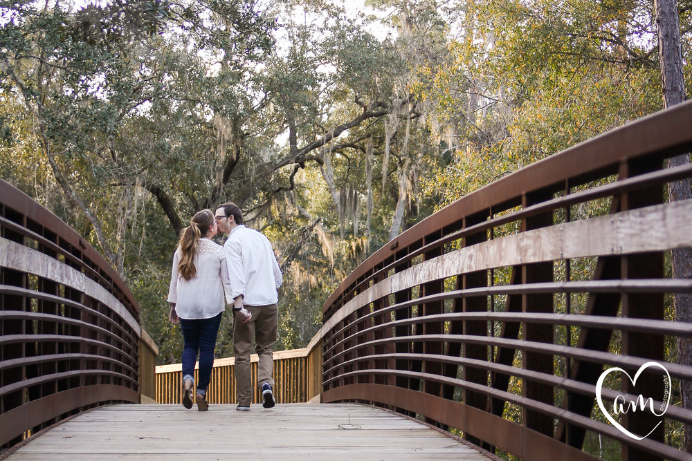 fun engagement photography at shingle creek regional park