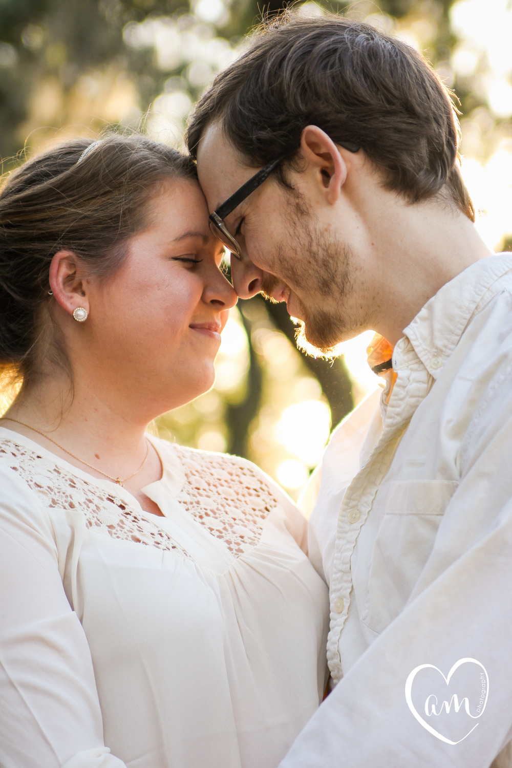 romantic engagement photography in orlando florida