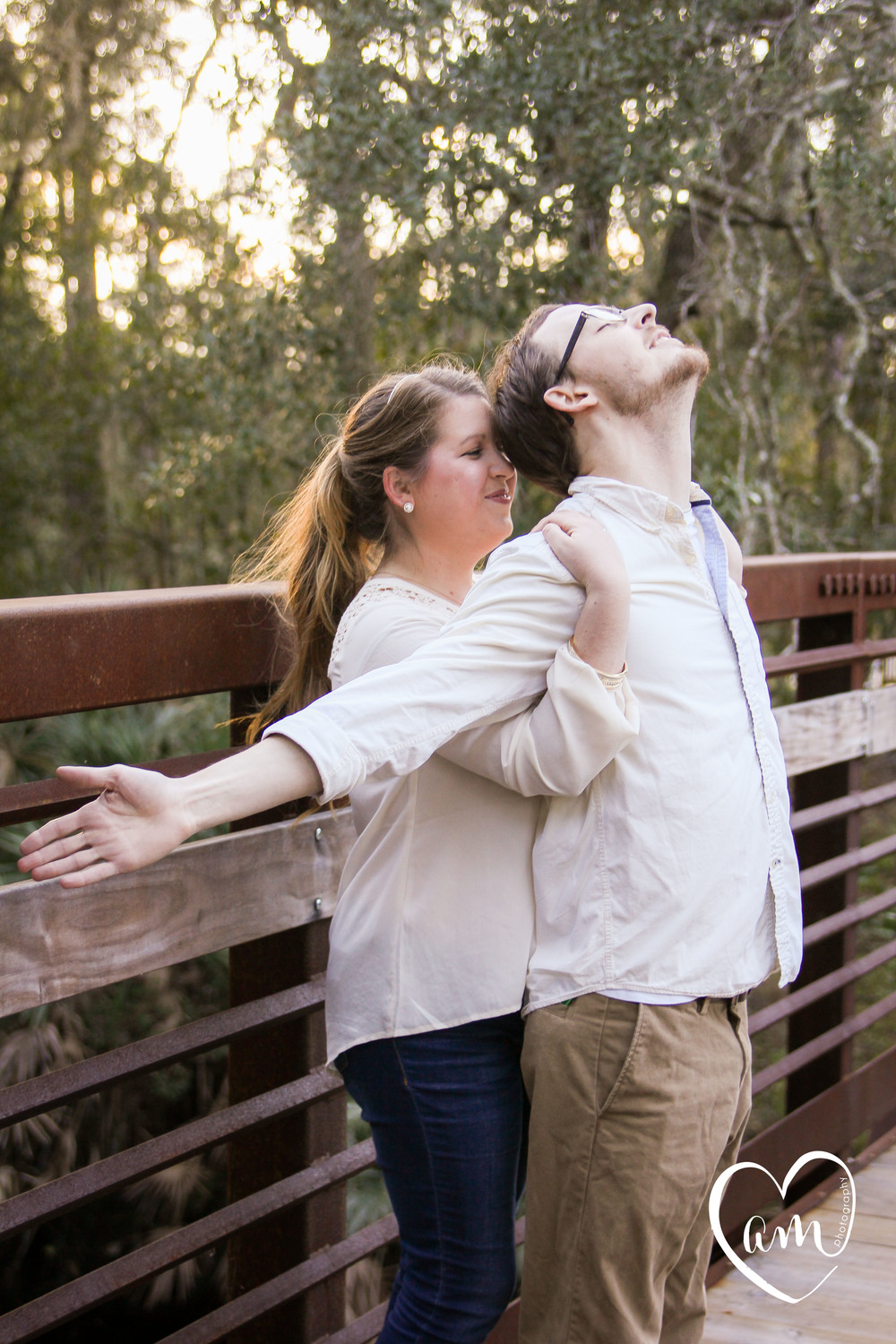 funny and quirky engagement photos