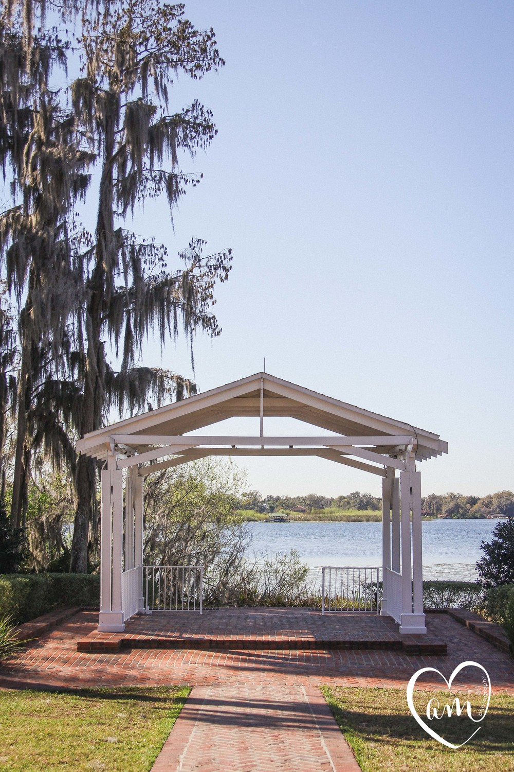 Gazebo for wedding ceremony
