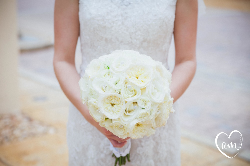 Bridal bouquet from an Orlando Florida wedding