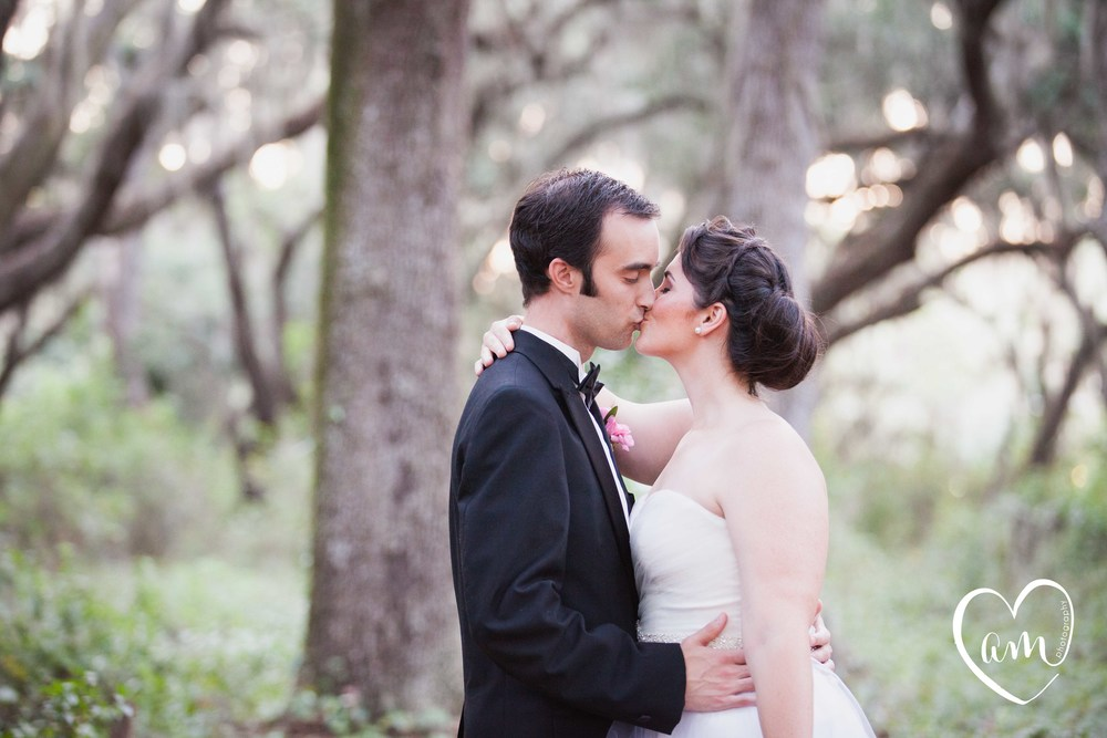 Romantic Bride and Groom Portraits photographed by Florida Destination Wedding Photographer