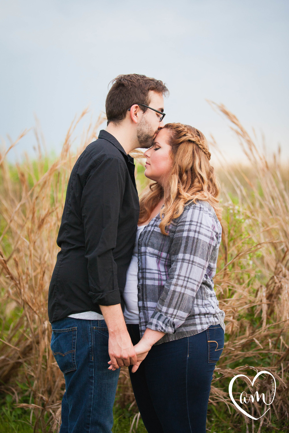 Lakeside engagement photos by Amanda Mejias Photography: Orlando Wedding Photographer