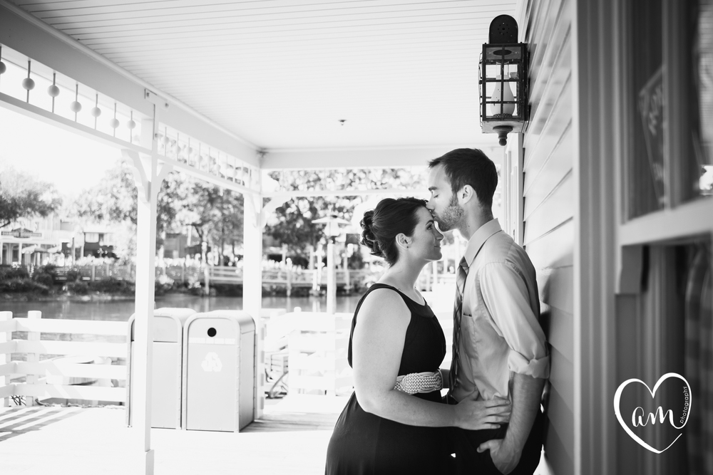 Magic Kingdom Engagement Session by Amanda Mejias Photography: Destination Wedding Photographer