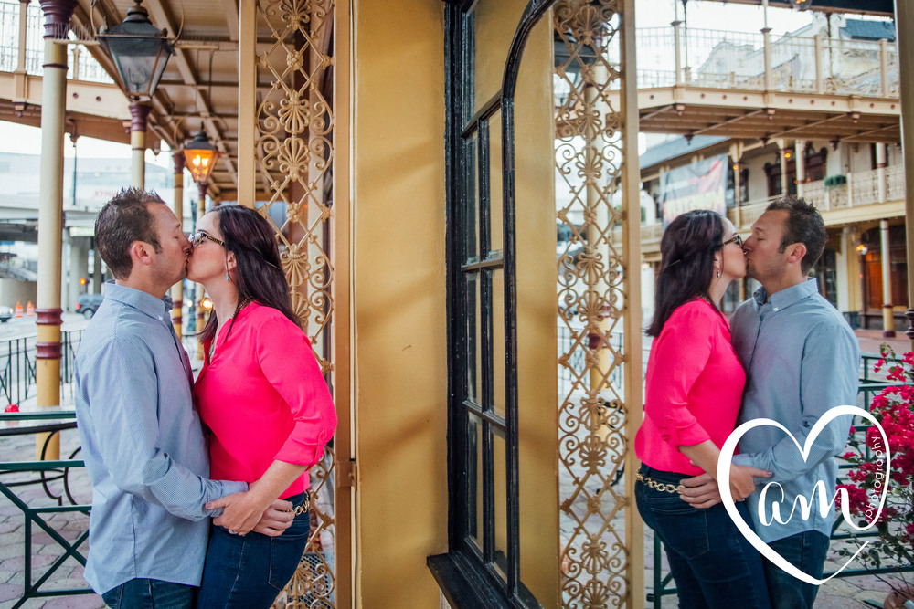 Church Street engagement session. Photo by Amanda Mejias Photography: Orlando wedding photographer.