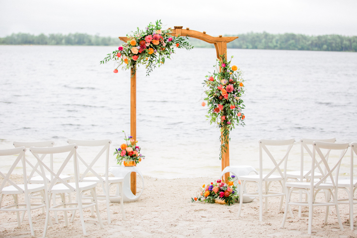 Beach wedding in Orlando, Florida