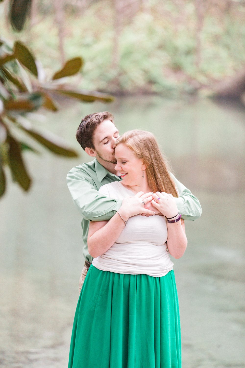 Rock Springs Engagement Session by Orlando wedding photographer