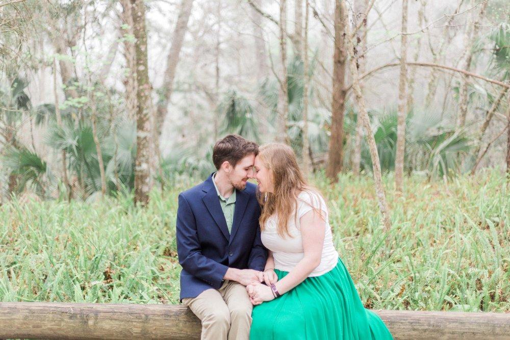 Kelly Park Engagement Session by luxury Orlando wedding photographer