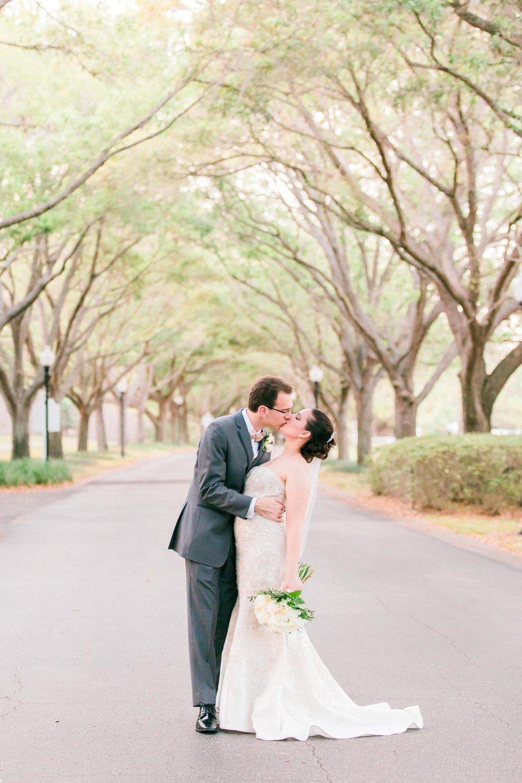 Cypress Grove Estate House Wedding in Orlando, Florida.