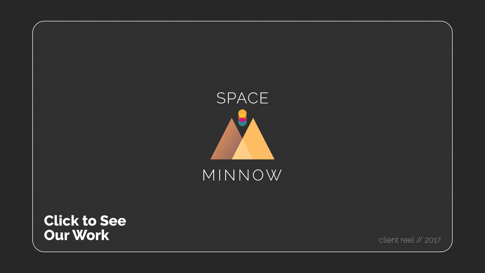 Space Minnow Reel Title Card
