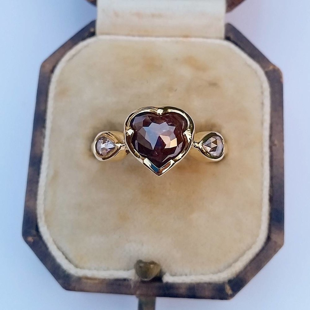 18ct Chocolate Diamond Ring