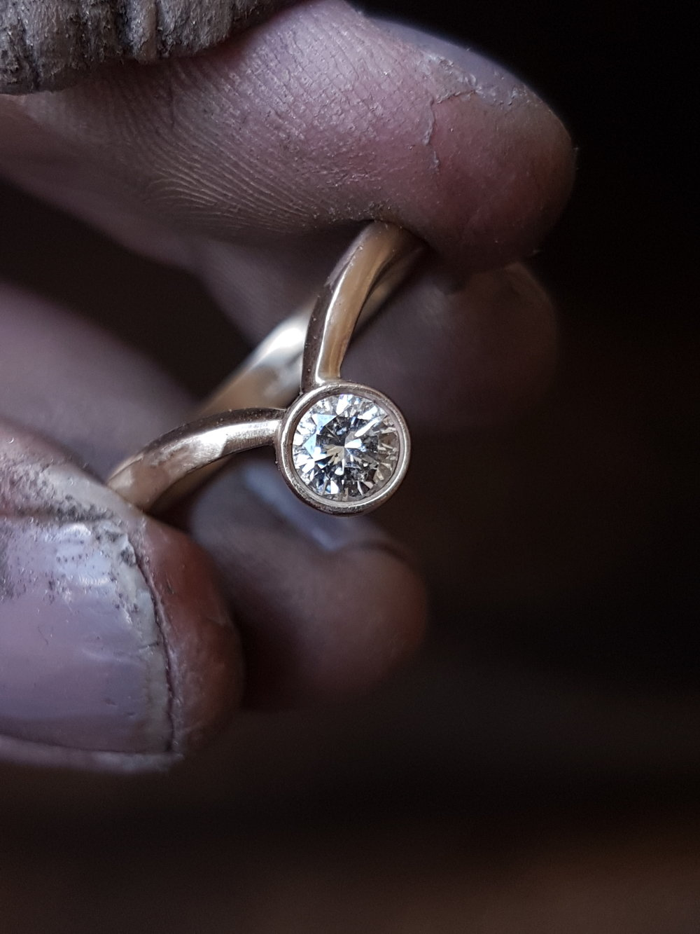 diamond ring process