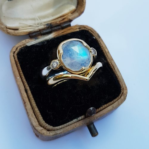 Moonstone+and+Champagne+Diamond+Ring+Set.jpg