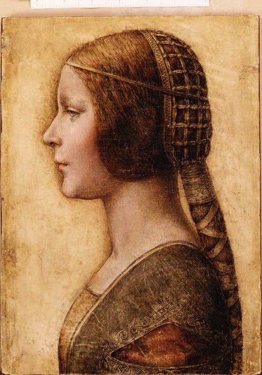 Inspiration: Supposed lost painting by Leonardo Da Vinci