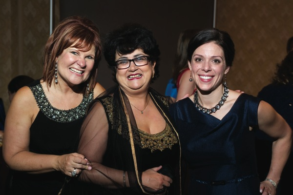 MCWT Board Members Chris Rydzewski, Vishakha Radia and Rebecca Bray