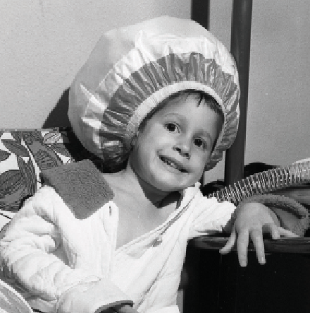 The bonnet hair dryer became popular in the 1950s. Photo by George Garrigues