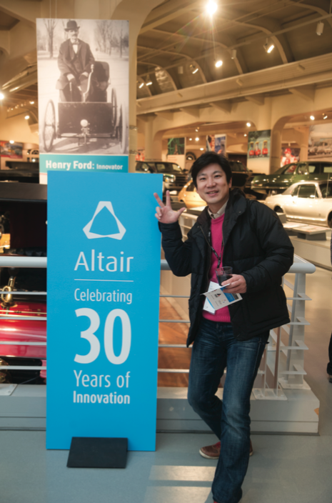 DongHo Han of Altair Korea.