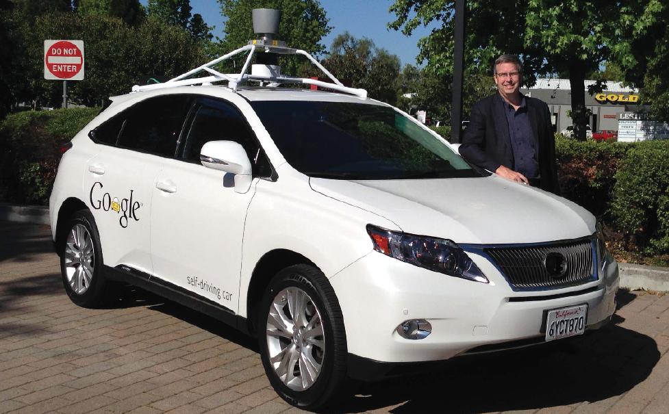 Henry Payne tests Google's autonomous Lexus 450h.