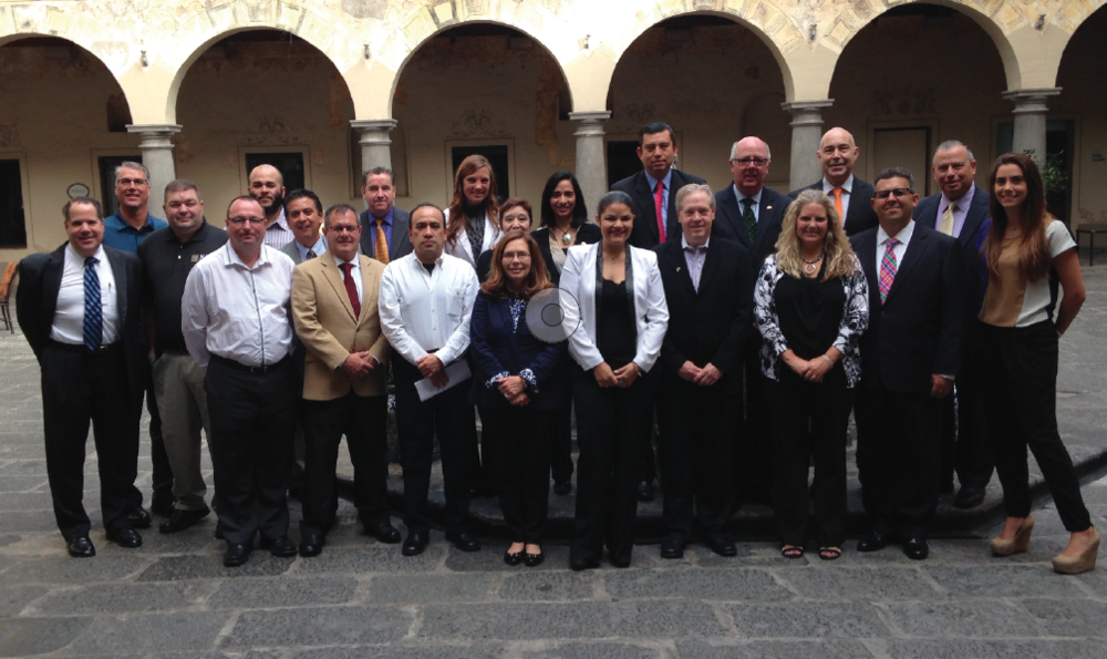 Since 2001, Automation Alley has led 25 trade missions to locations around the world, resulting in more than $507 million in export sales for Southeast Michigan businesses. Pictured are participants in Automation Alley's 2014 trade mission to Mexico.