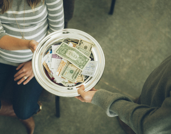 "What is Tithing? - A tithe—which just means ""tenth""—is defined as the first 10% of a person's income before taxes or anything else comes out. The Bible says we can take the promises of God to the bank. When we bring our first and best back to God, He promises to bless the rest. We can't outgive God. We know tithing is a huge step of obedience, but you're not in this alone!"