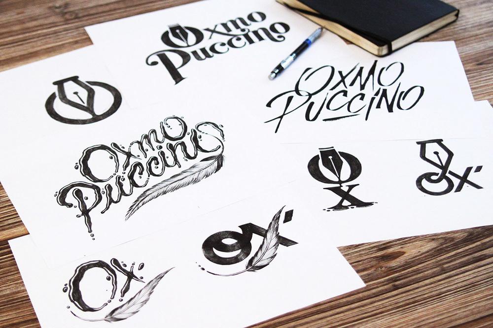 Logo Oxmo Puccino réalisé par Tyrsa