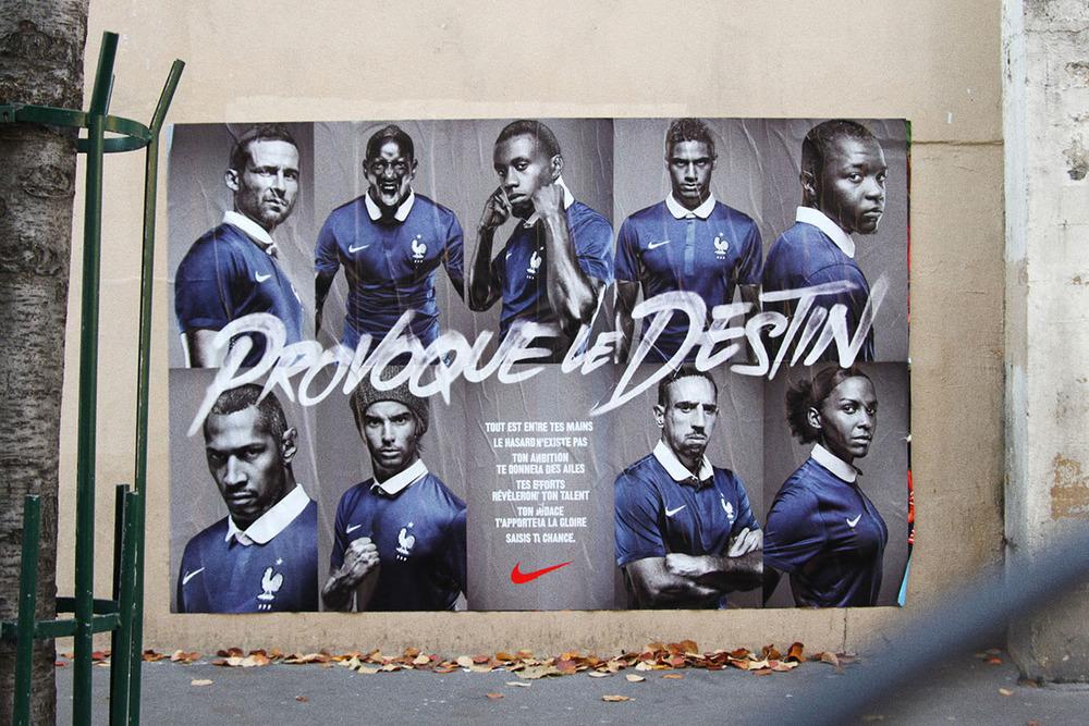 Campagne Nike - Tyrsa