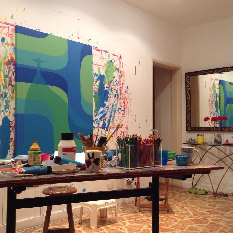 L'atelier de Kakau Höfke - Rio de Janeiro