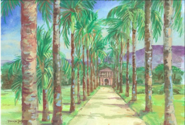 peinture de Dominique Jardy