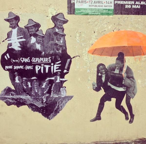 """Le Mouvement - Fortino Samano  """"Parapluies"""" - """"Rue Saint-Maur"""""""