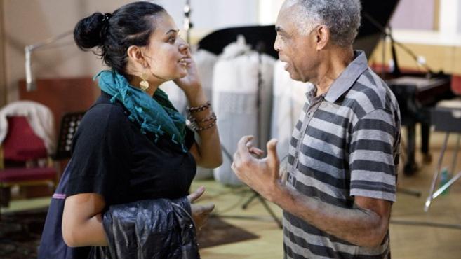 """Dina El Wedidi & Gilberto Gil for""""Rolex Mentors and Proteges"""" programm"""