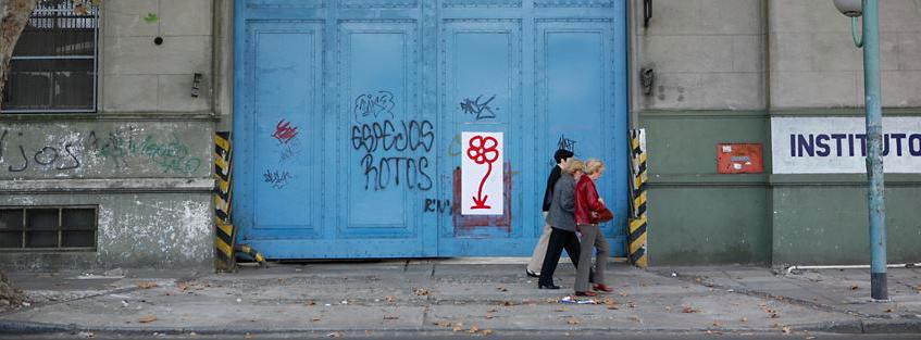 A Buenos Aires en 2009, une fleur ©Michael de Feo