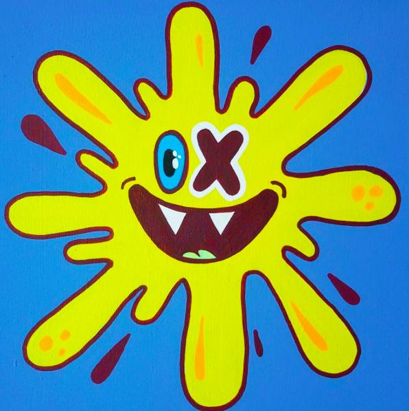 Yellow Splash © OX-Alien