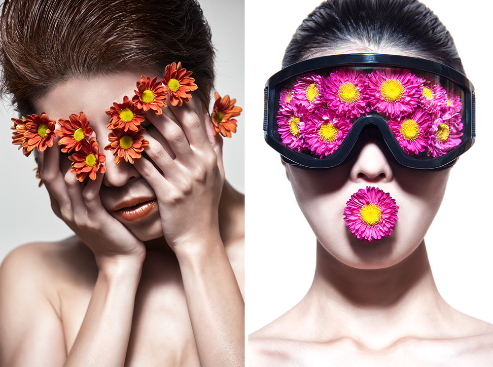 Flowerhead series ©Ajax Lee
